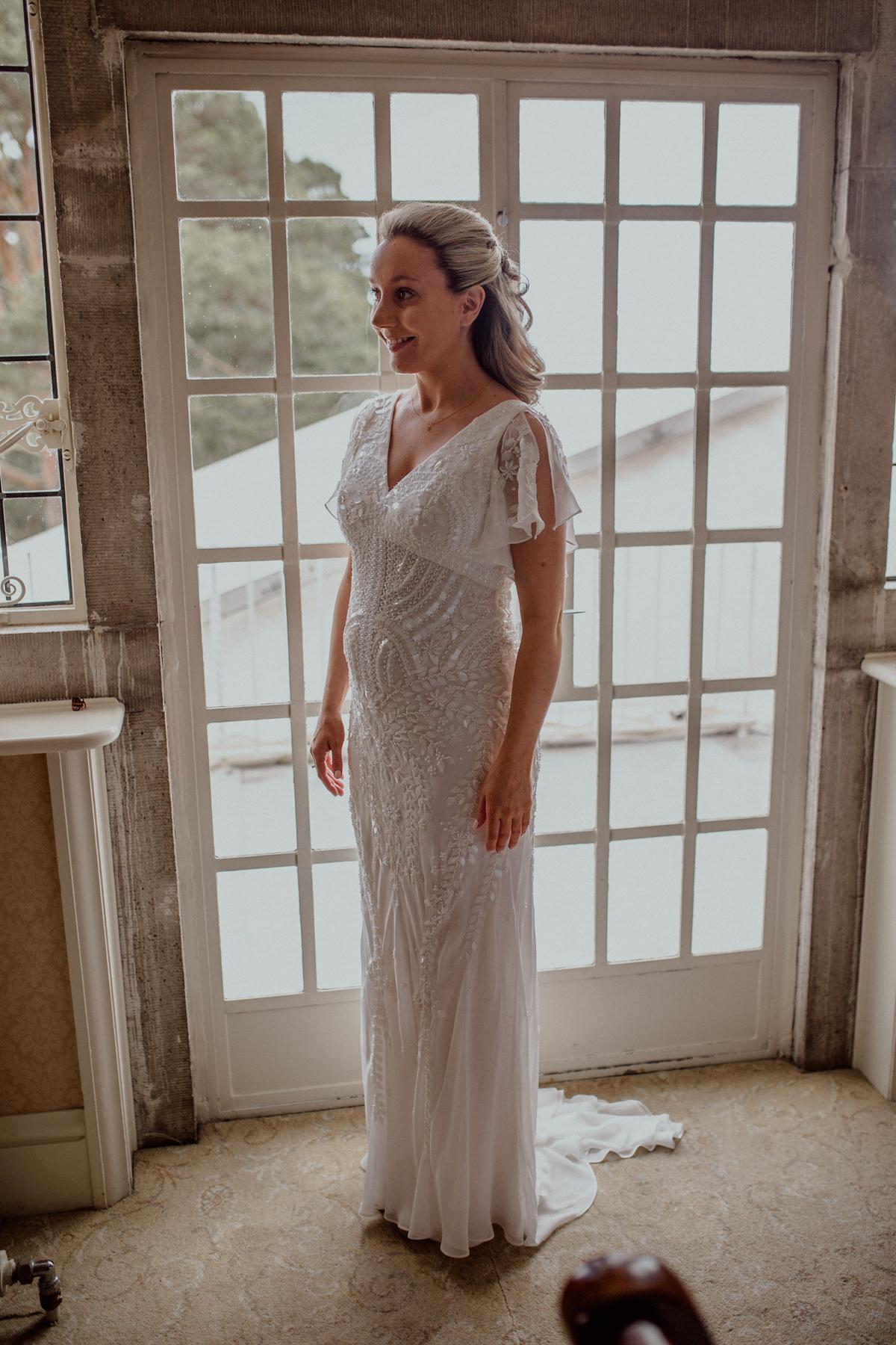 2816877abf Eliza Jane Howell bride - An Eliza Jane Howell Beaded Dress And Family  Heirloom Veil ...