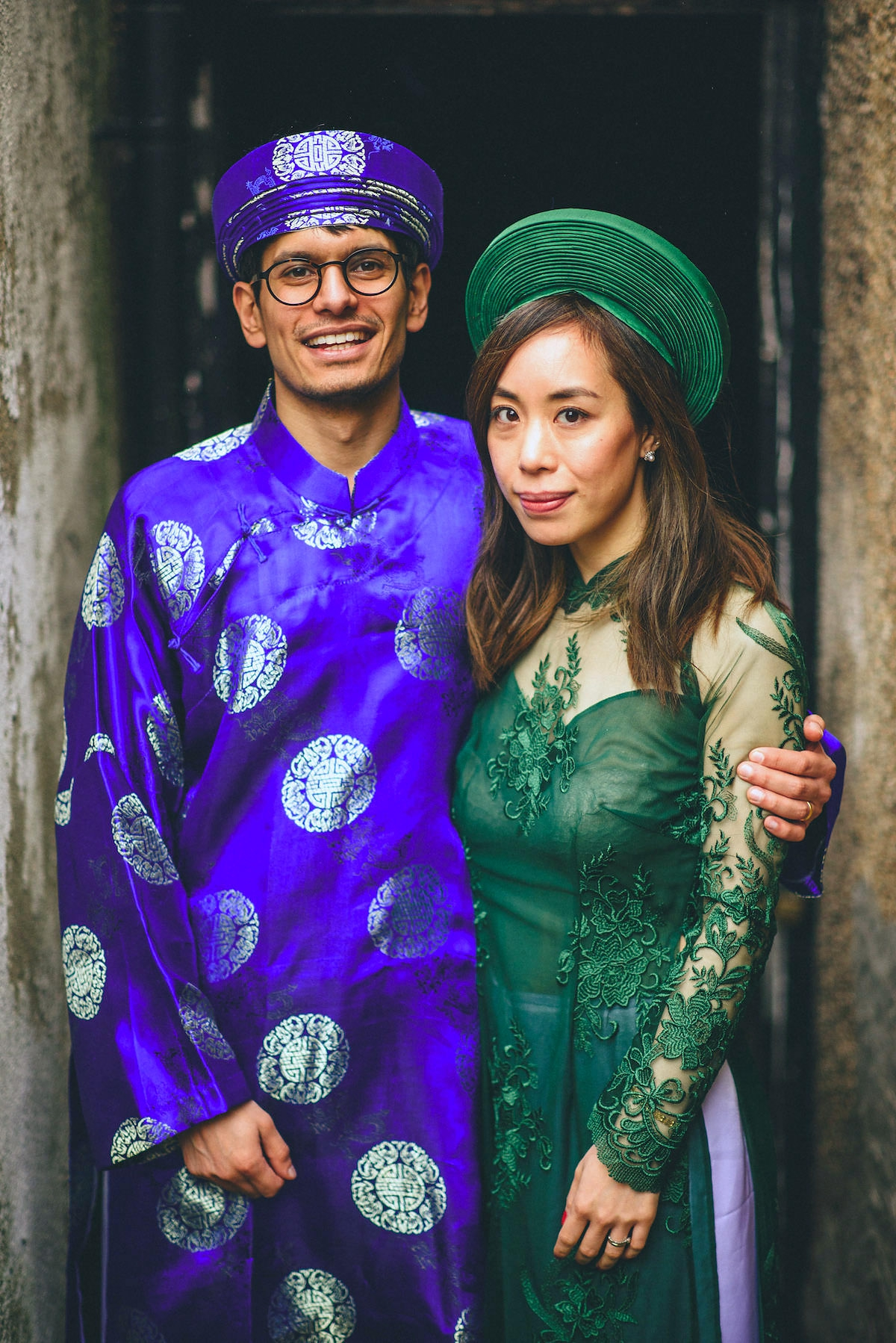 174a435546d Vietnamese Fusion Wedding - A Traditional Dress and Tea Ceremony for a  Vietnamese Fusion Wedding in ...