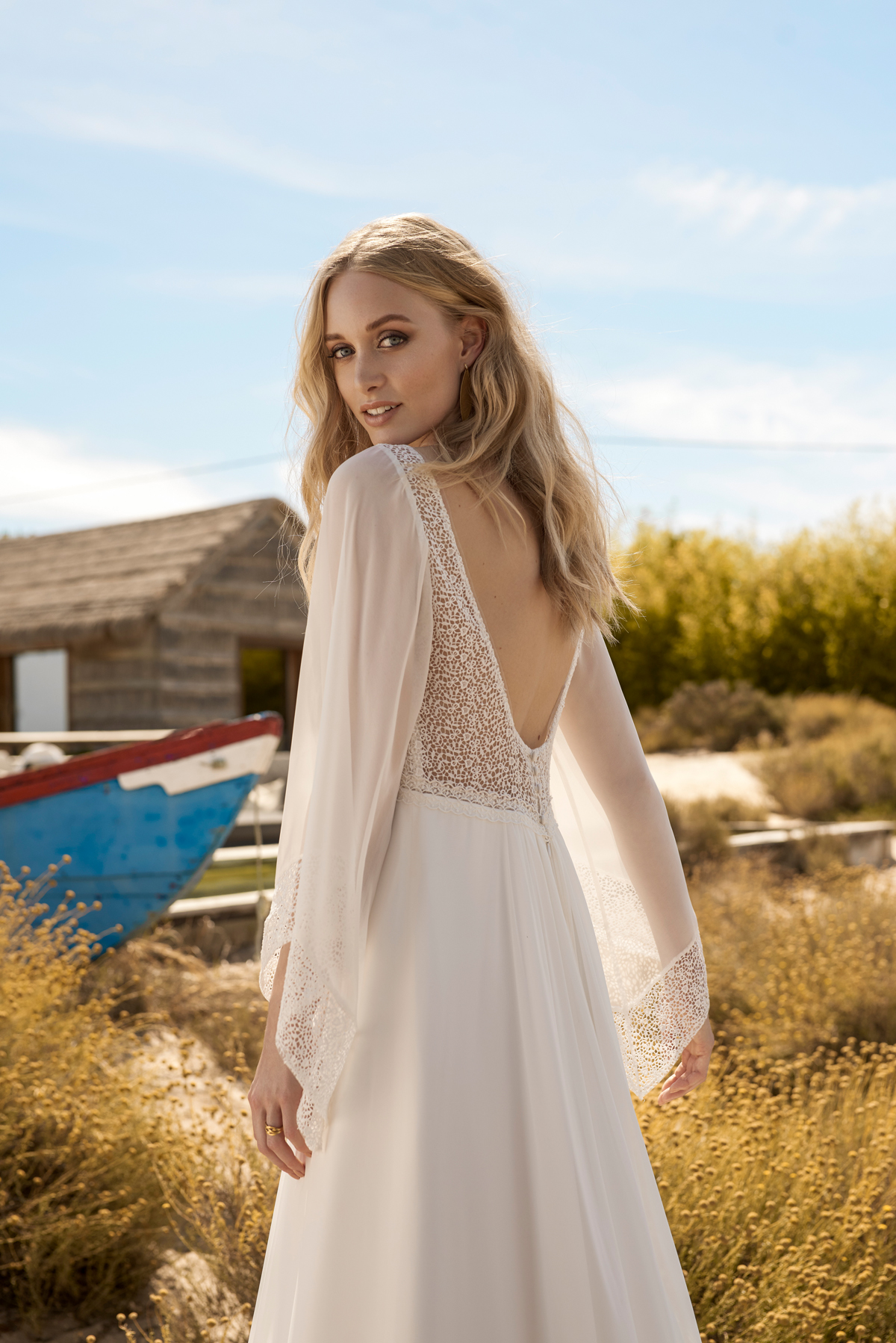 28a7dbac02 Rembo styling Ginger C back HR - Rembo Styling - Sophisticated Bohemian  Bridal Style for 2018