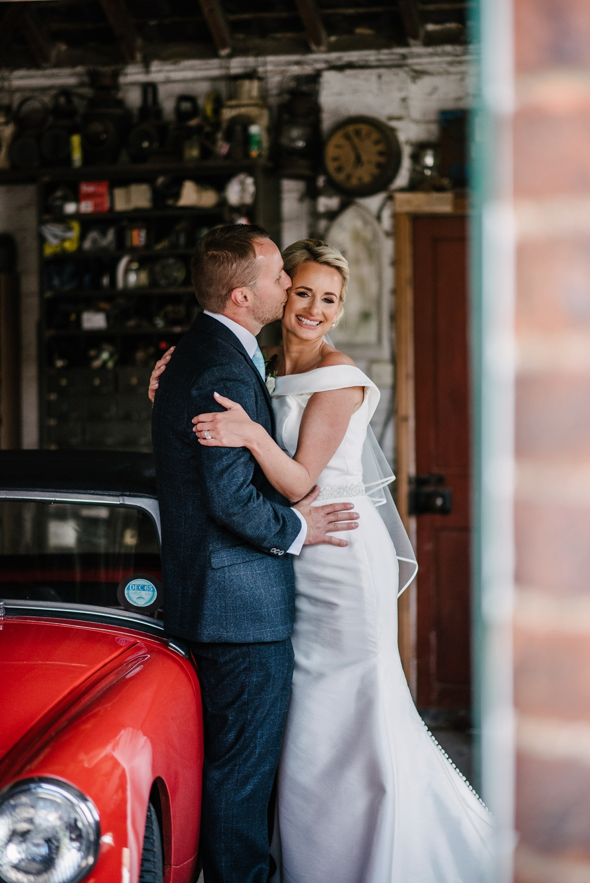 Ronald Joyce Flower Filled Diy Wedding A Gown For