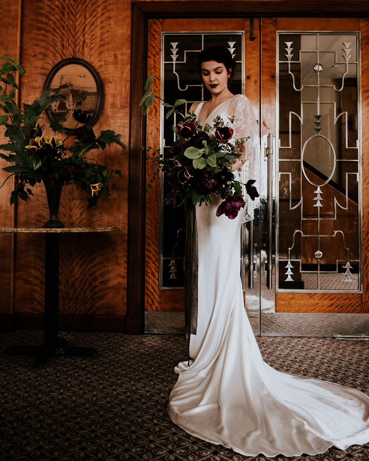 Luxurious, Romantic And Vintage Bridal And Loungewear