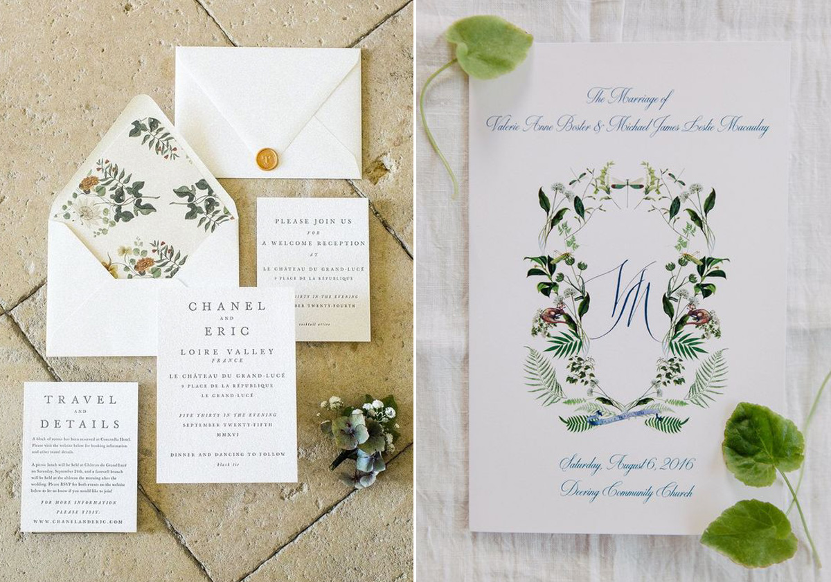 ce371410b24316 Wedding trends pocketful of dreams wedding planner bridalwear trends illustrated  wedding stationery - Ideas and Inspiration