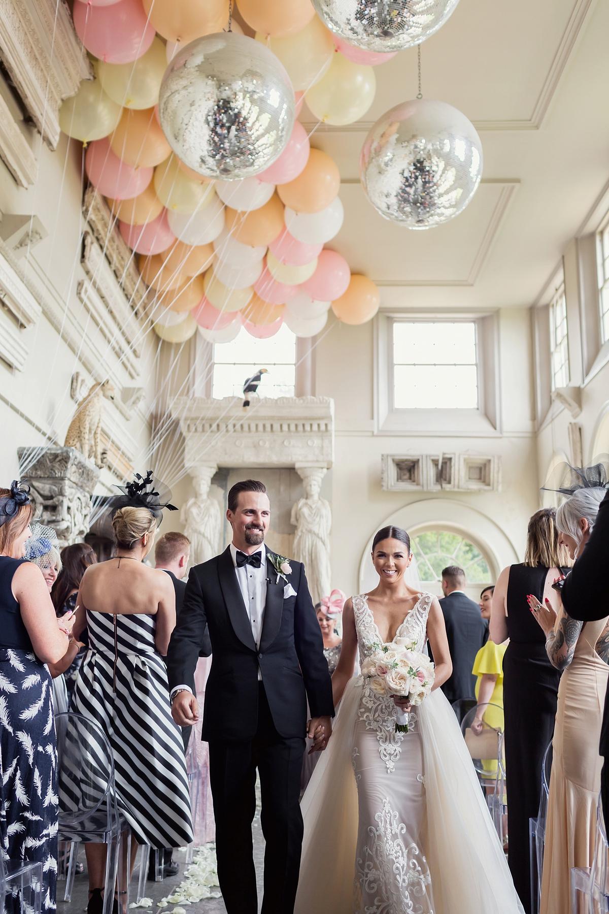 5a3d235d182 berta bride aynhoe park wedding - Aynhoe Park Black Tie + Berta Bride  Glamour for a