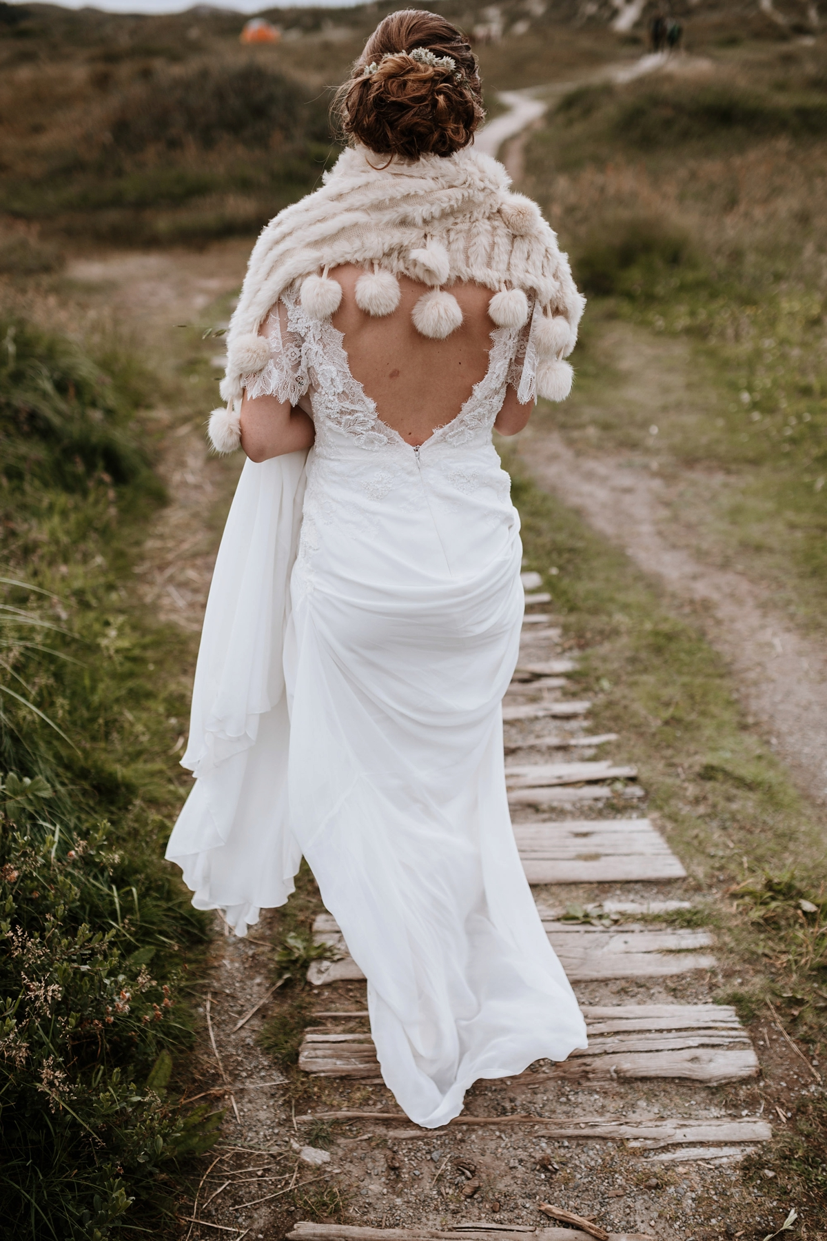 Scandi Bride Norwegian Wedding A Scandinavian And Her Relaxed Fuss Free Summer
