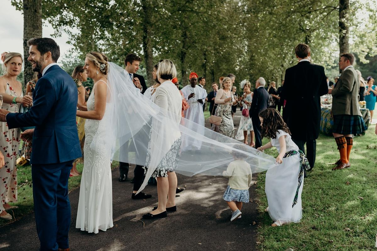 A Bhldn Dress For A Riverside South African Irish Fusion Wedding