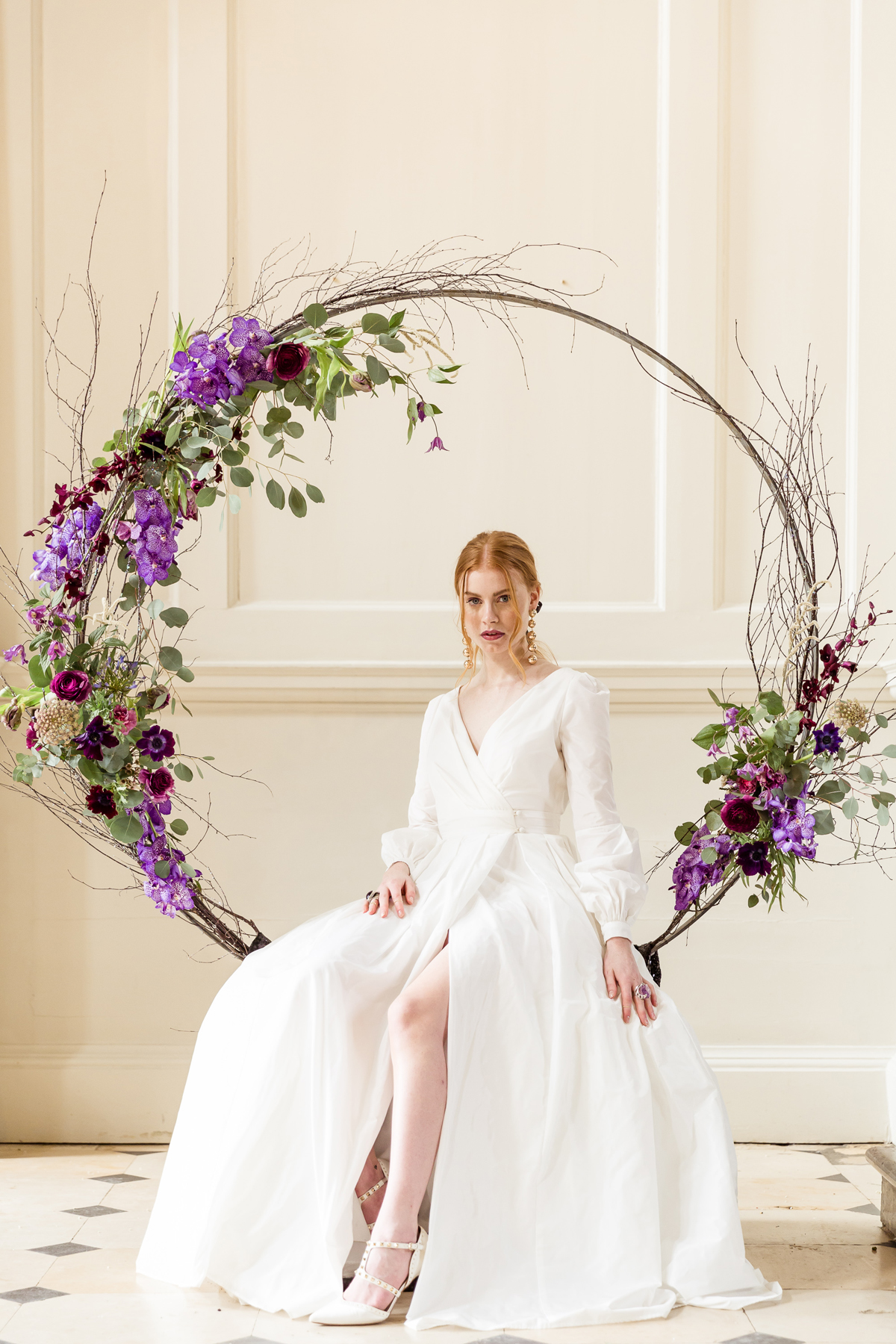 """d9c716dd324 Sarah Brookes Photography - Ultra Violet Wedding Inspiration: Pantone 2018  Colour of the Year. """""""