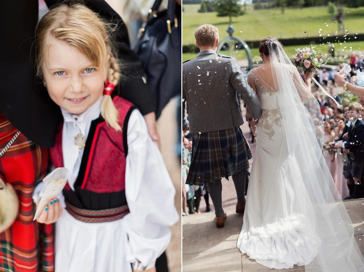 a3b66c1a6c ... elegant beautiful scottish wedding - An Elegant Scottish Wedding  Inspired by Nature ...