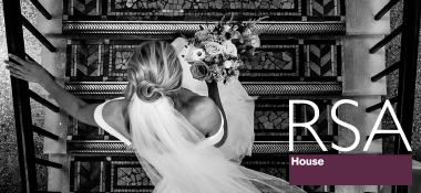 rsa ad rollback - A Sassi Holford Gown for an Elegant and Edgy Black Tie Wedding