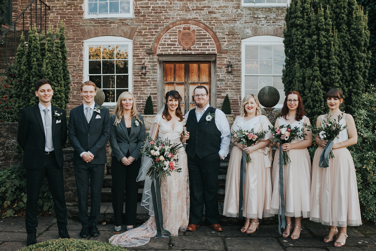 """56ddcf6c451 Claire Pettibone dress for an Autumn country house wedding - A Claire  Pettibone Gown for an. """""""