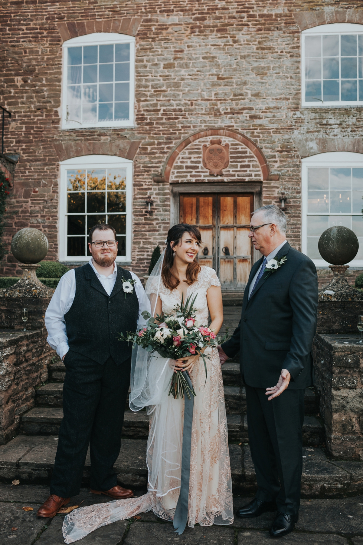 a28165c3c2a ... Claire Pettibone dress for an Autumn country house wedding - A Claire  Pettibone Gown for an ...