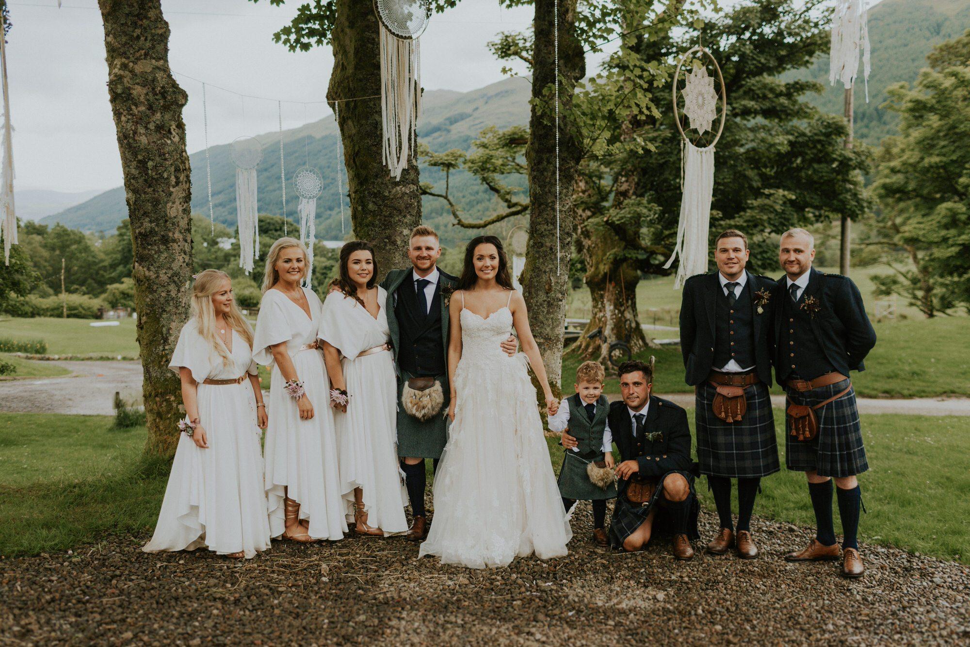 9de962d1a8c4a Dreamcatchers and Bohemian Vibes for a Free Spirited Scottish Lochside  Wedding | Love My Dress® UK Wedding Blog + Wedding Directory