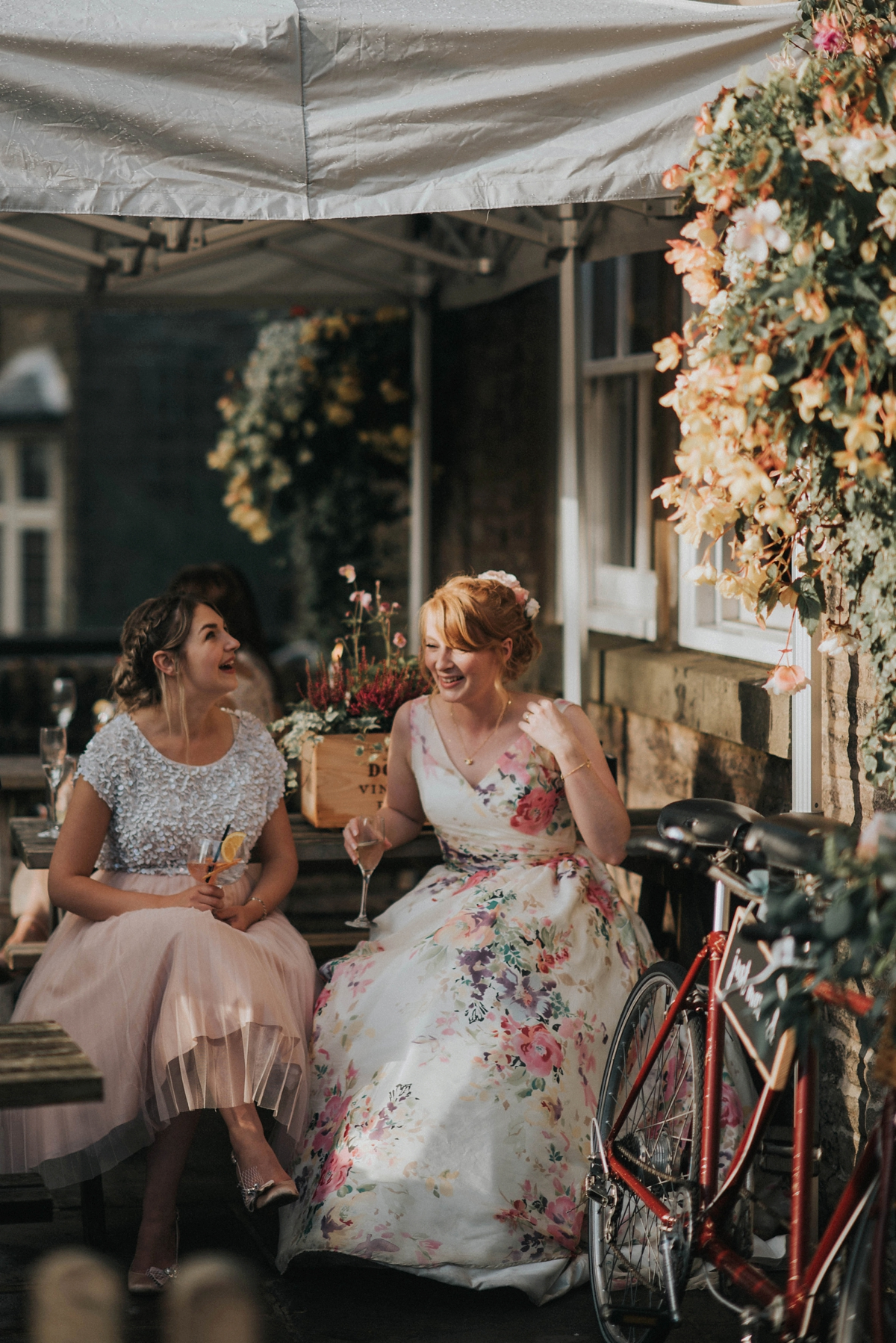 b772aed0e11 ... Floral wedding dress by Charlotte Balbier - A Floral Wedding Dress Dress  For A Handmade and ...
