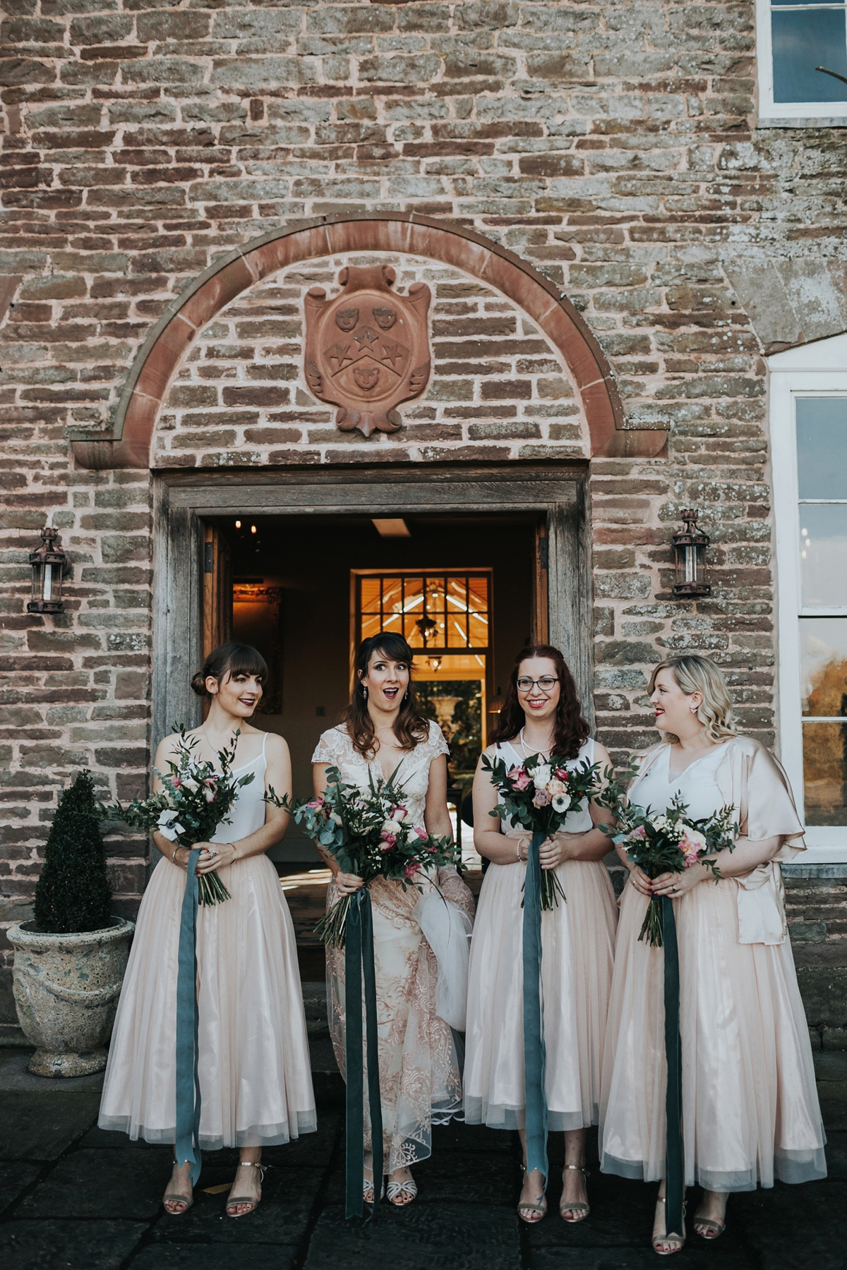 06520fc1bd7 Claire Pettibone dress for an Autumn country house wedding - A Claire  Pettibone Gown for an