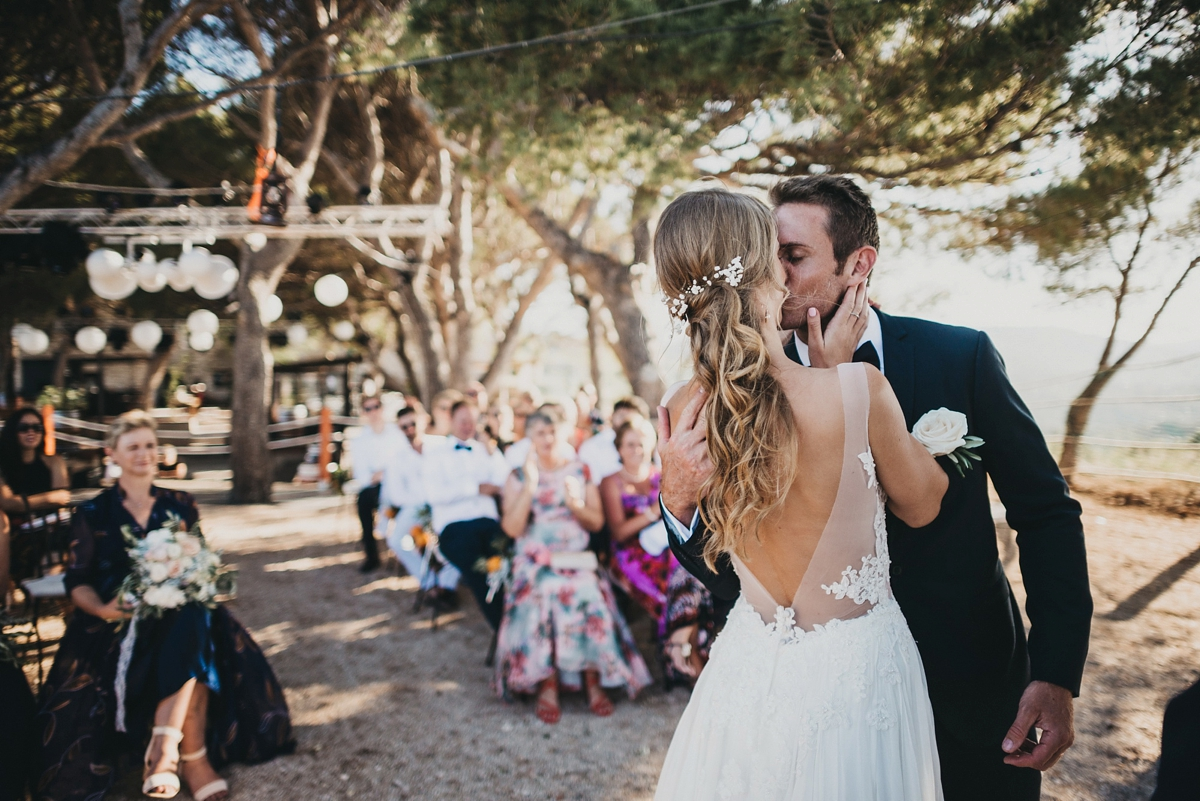 A Croatian Island Wedding full of Stylish Bohemian Touches   Love ...