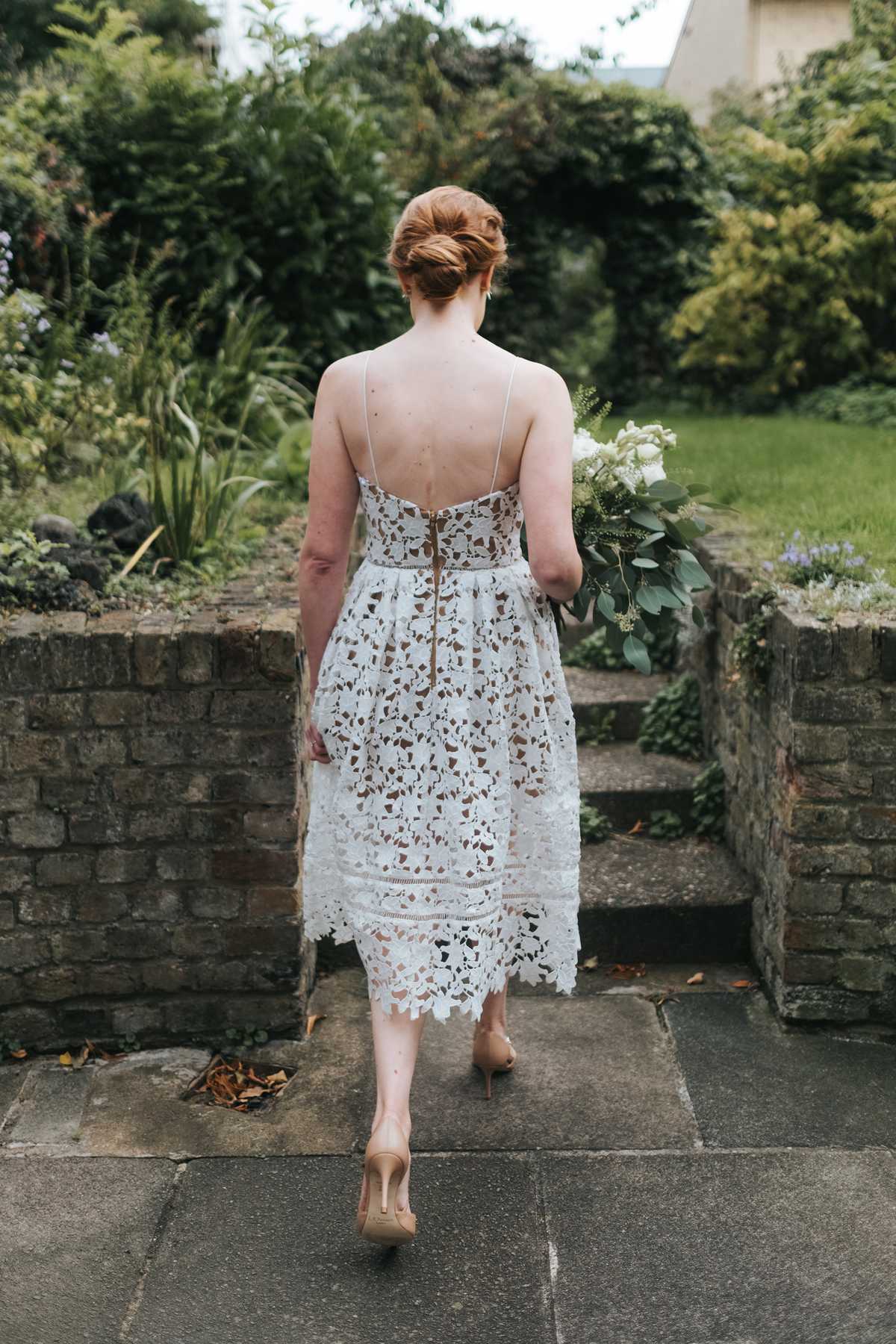 7176c3113048 Self Portrait wedding dress and - A Self Portrait Dress for a Laidback and  Intimate London ...