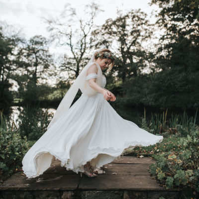 Jenny Packham Elegance for a Rustic Autumnal Wedding Inspired By A Midsummer Nights Dream