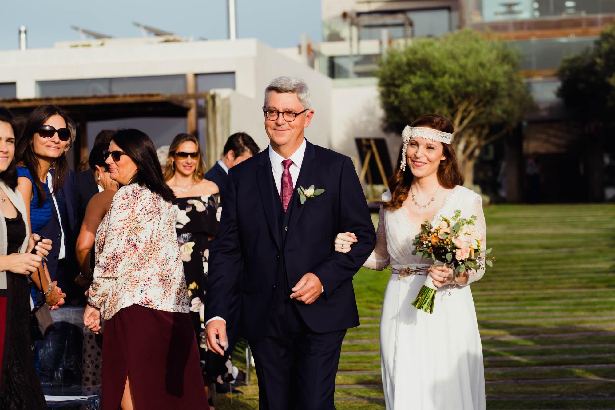 """8ea8dc5598e areias do seixo wedding photography pedro emilie claudiarosecarter - A  Marylise Gown for a Chic Coastal. """""""