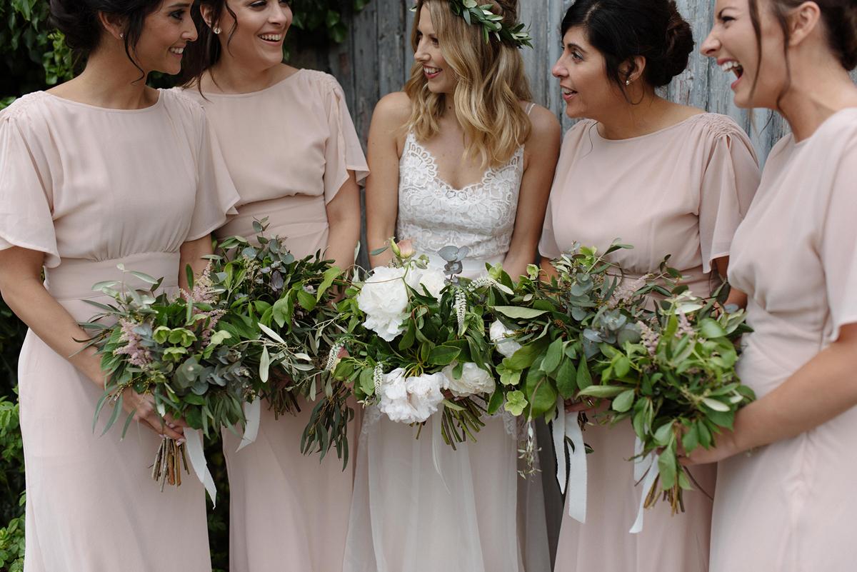 78314b9954 Irish Wedding Photo 1920s Flower Girls