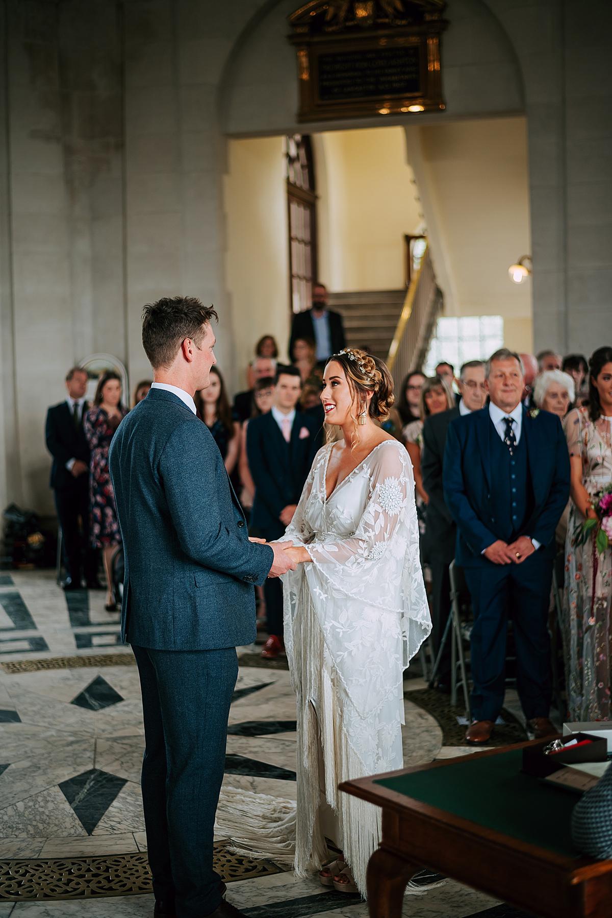 3d76e213a69 A Rue de Seine wedding dress for a modern bride - A Fringed Rue de Seine