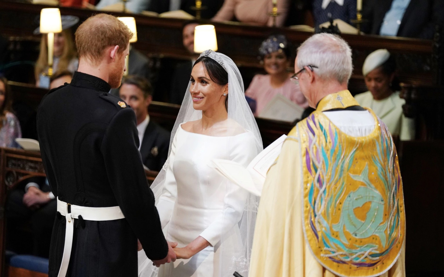 a57b562ad87 Meghan Markle s Wedding Dress  The Last Word in First Lady Dressing ...
