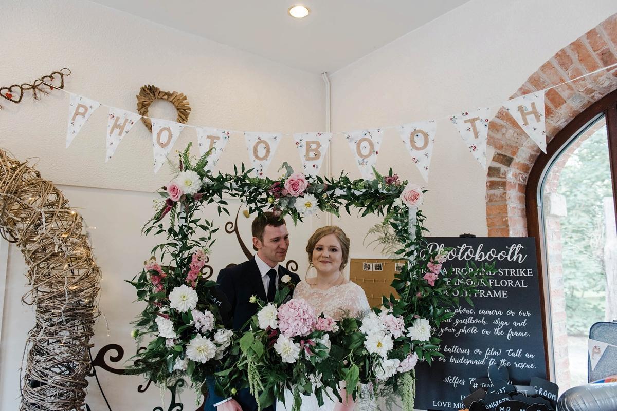 "e9ffc55968a ... A bride who made her own dress for her elegant garden party wedding - A  Bride. """