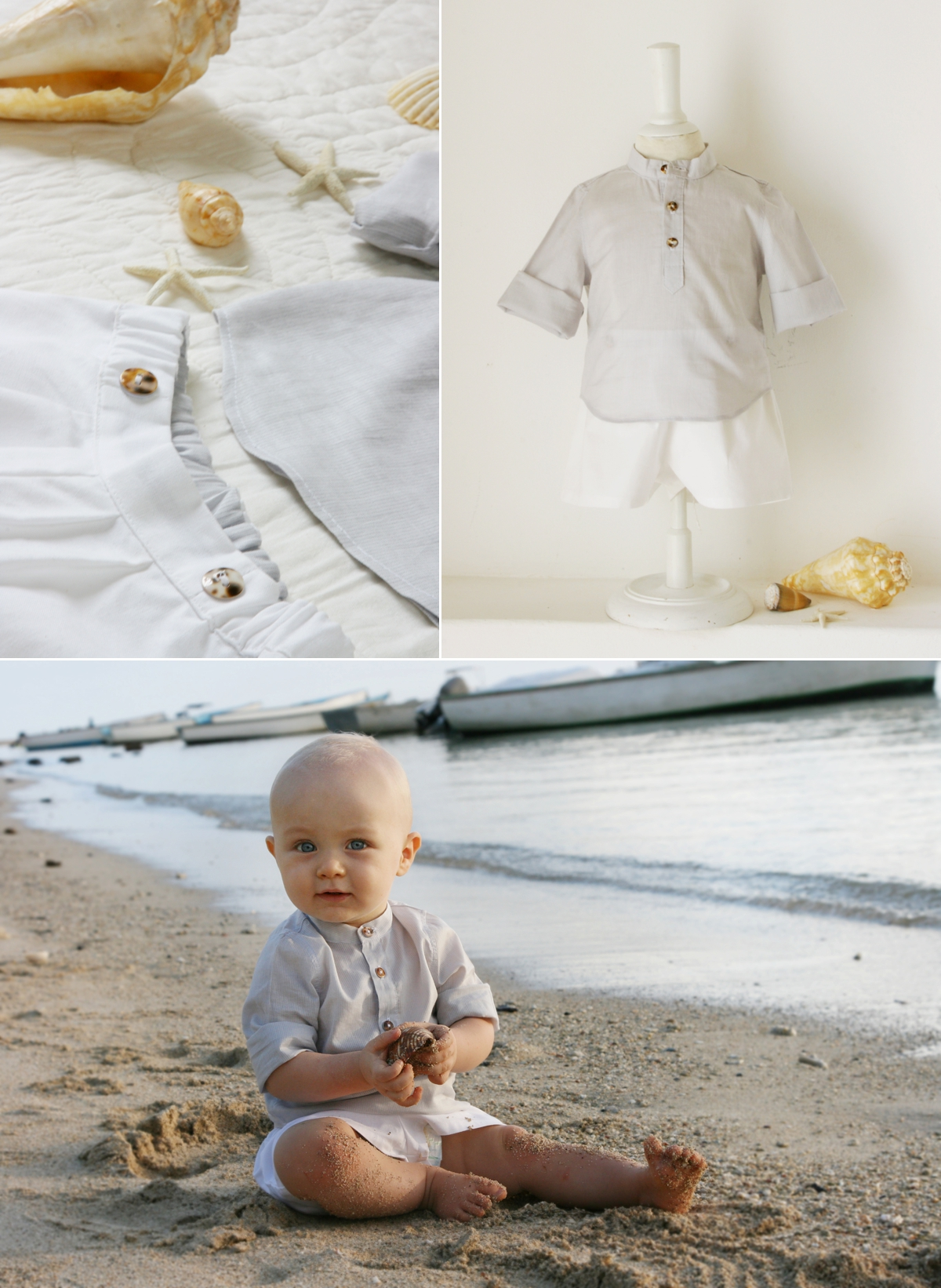657c84031403 beach baby boy outfit little eglantine - Stylish Outfits for Children at  Weddings by Little Eglantine. ""