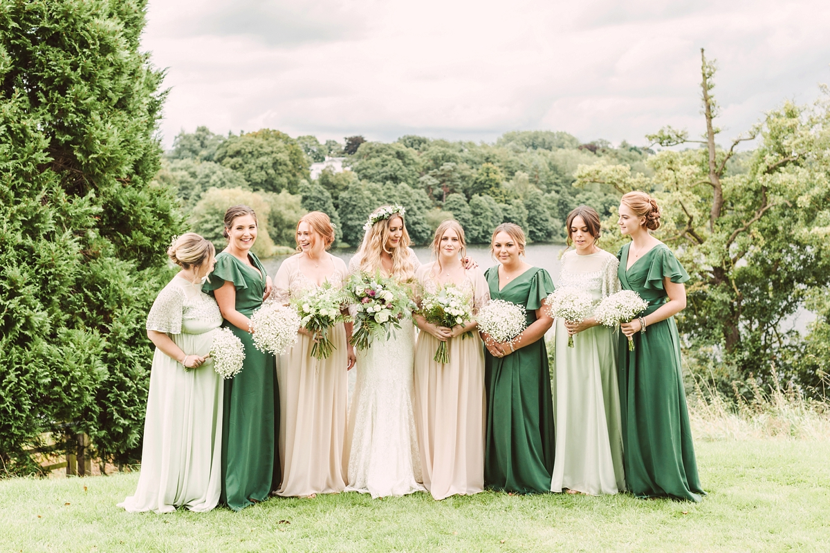 3c7cbb2c8b ... A botanical inspired village hall wedding - A Botanical Inspired, DIY  Village Hall Wedding ...