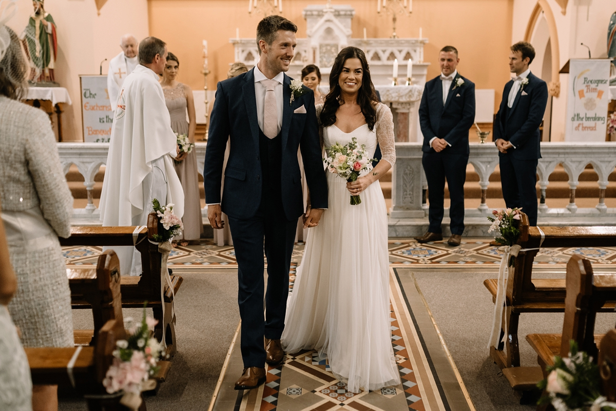 aea0218efe1 A Naomi Neoh bride and her romantic country house wedding - A Naomi Neoh  Gown For ...