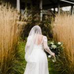 An Anna Kara Dress For A Winter Barn Wedding full of Understated Glamour