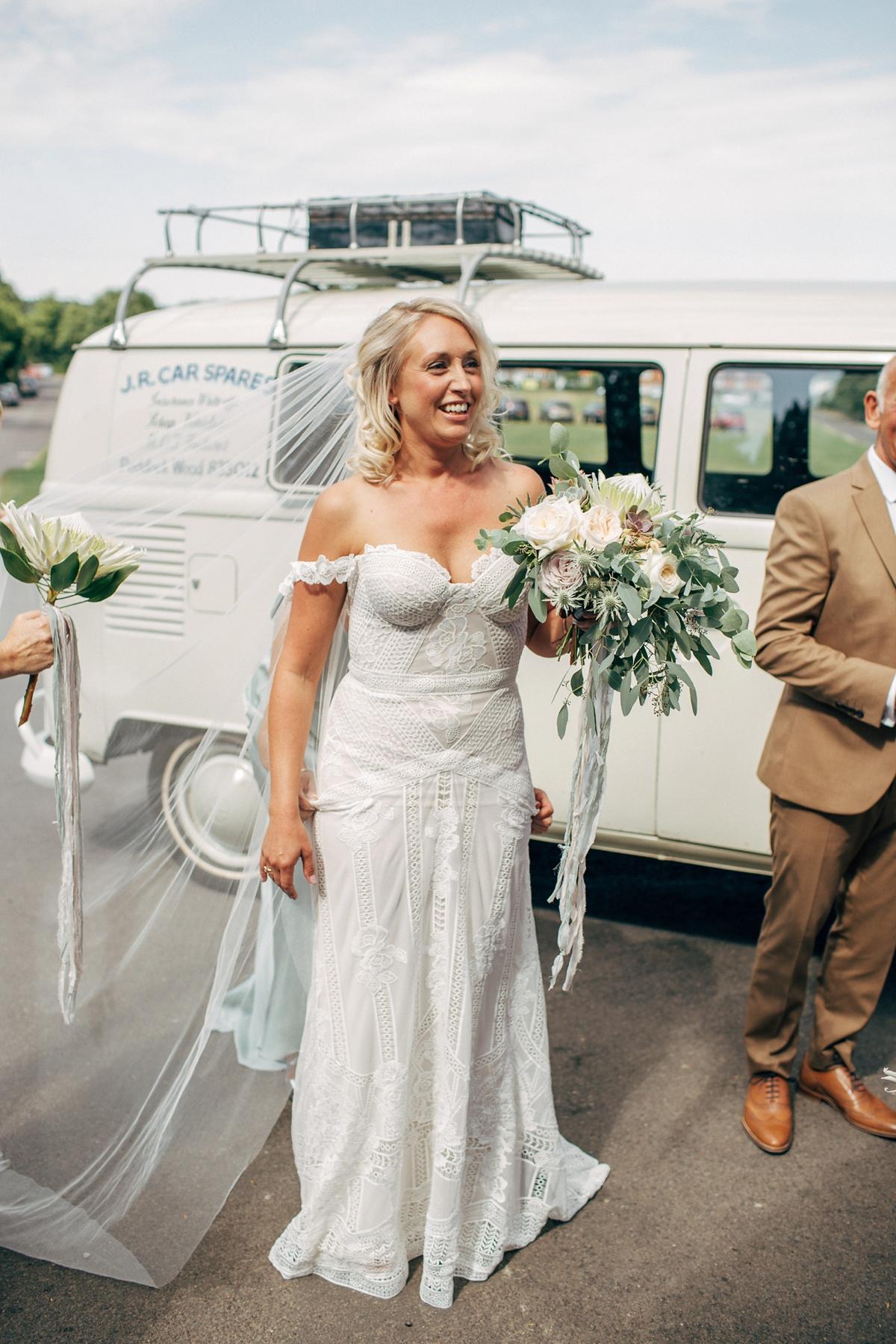 18f4d70b33bf A Rue de Seine gown for a village marquee wedding - A Rue De Seine Gown ...