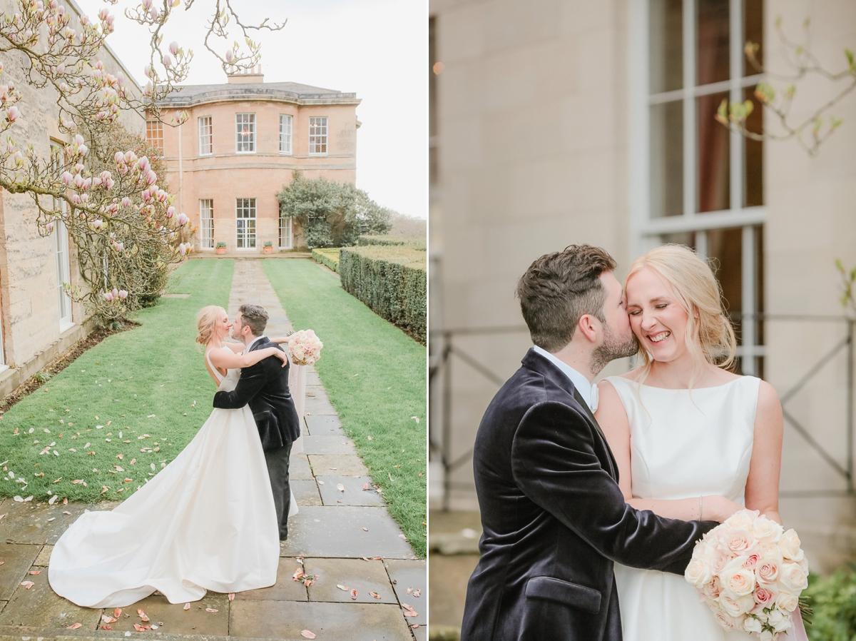 0c8b2833d1e ... A Caroline Castigliano dress for a pastel pretty Spring wedding day at  Rudding Park in Harrogate ...