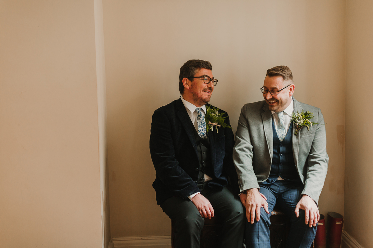 Two Grooms stylish inspiration for grooms - Two Grooms: Luxey and Contemporary Same Sex Wedding Inspiration