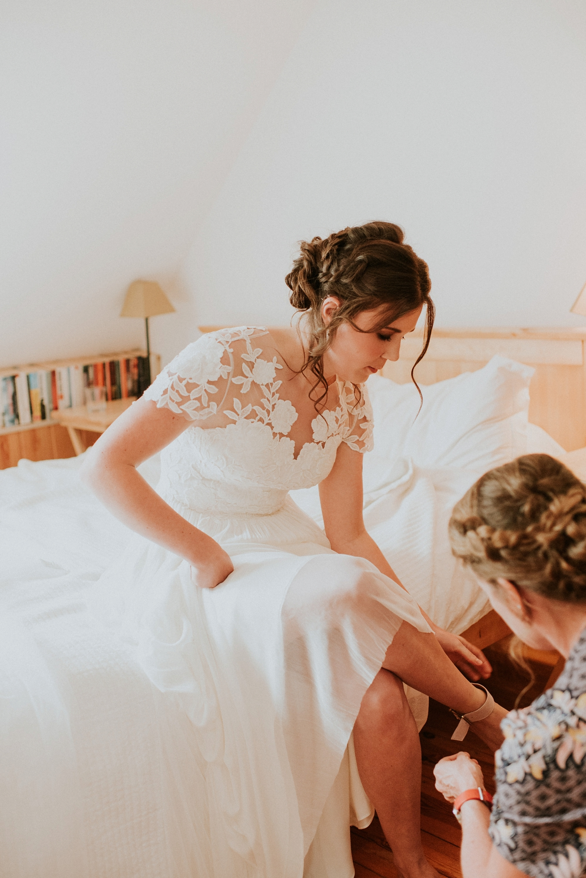 151a740511ea5 A Catherine Deane Dress Scandinavian inspired tipi wedding. Big Bouquet  Photography. - A Catherine