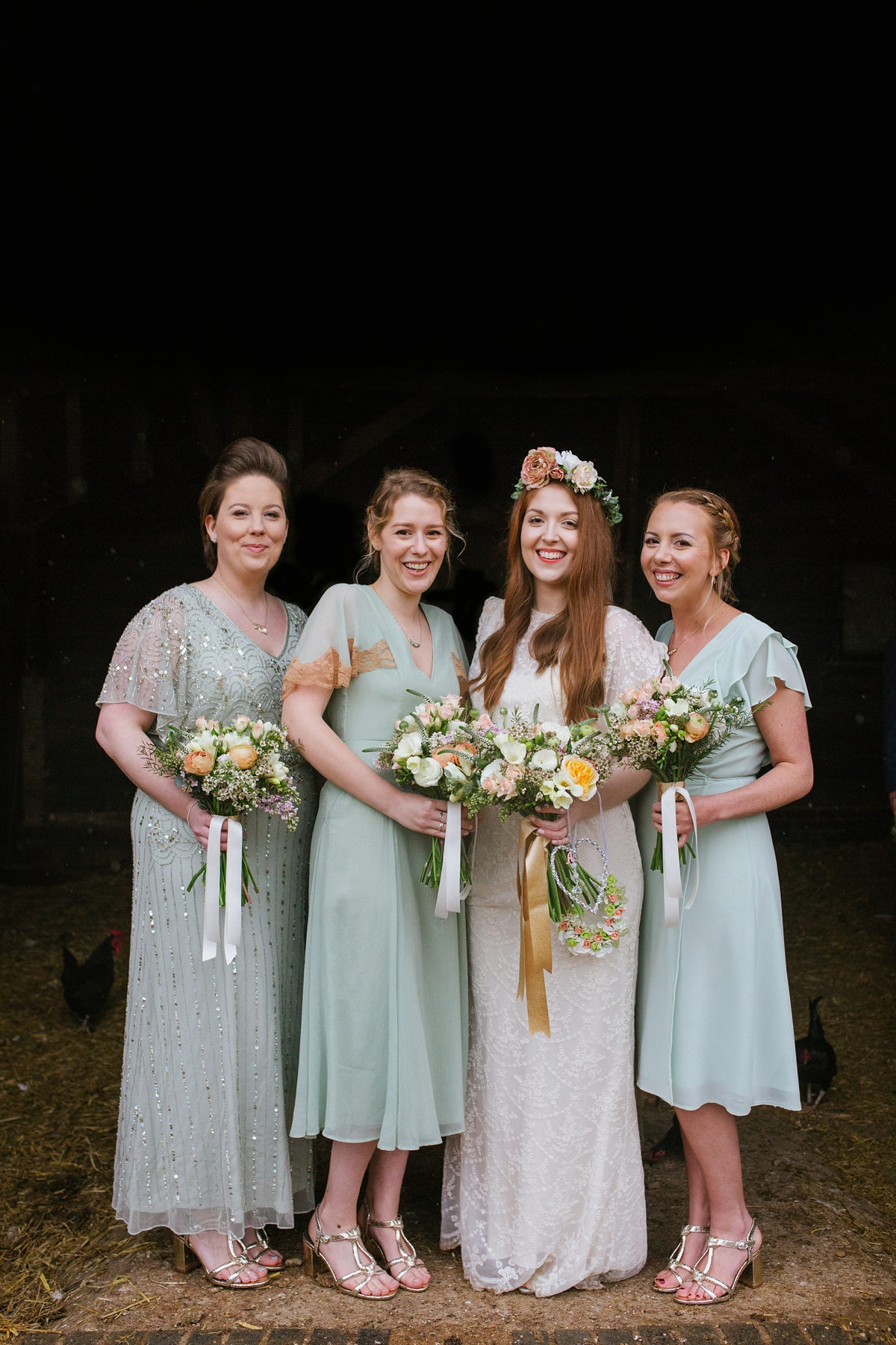 ec8cdc2e8a ... A minna eco friendly dress rainy day wedding Photography by Emma Case -  Two Childhood Sweetheart ...