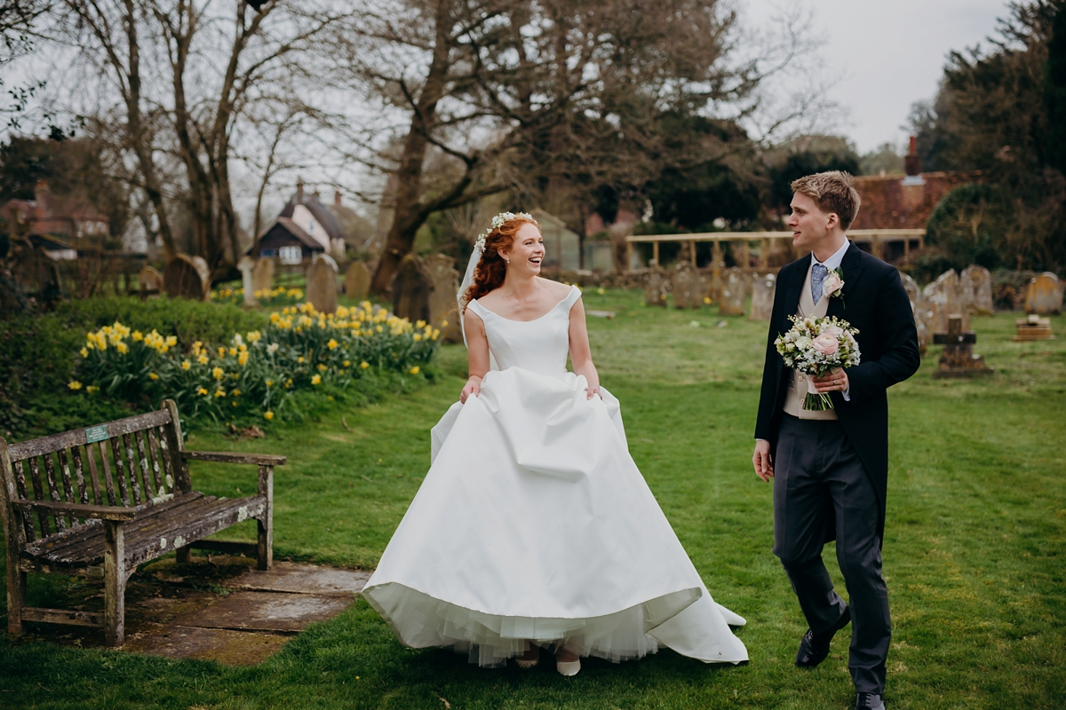 8f0e2f41c24 ... A Suzanne Neville gown English country wedding - A Classic + Elegant  Suzanne Neville Dress + ...