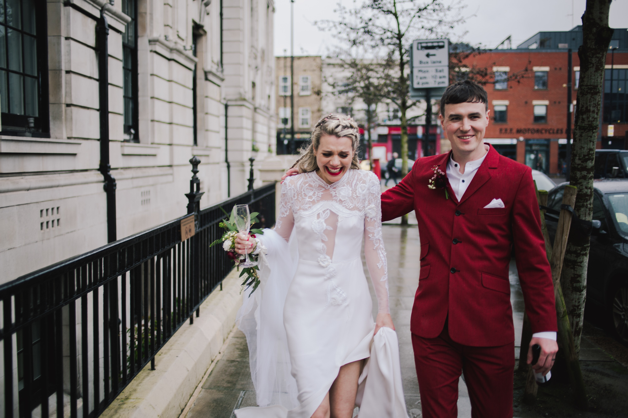 fe8f37eefa14a A customised 1970's Dress for a Real Most Curious Bride and her Modern,  Non-Traditional London Wedding | Love My Dress® UK Wedding Blog + Wedding  Directory