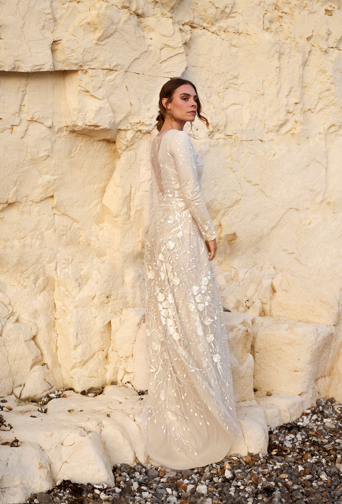 be2818400d Modern bride Autumn English Autumn Coast wedding inspiration bridal fashion  by Seni Dey - Seni Dey