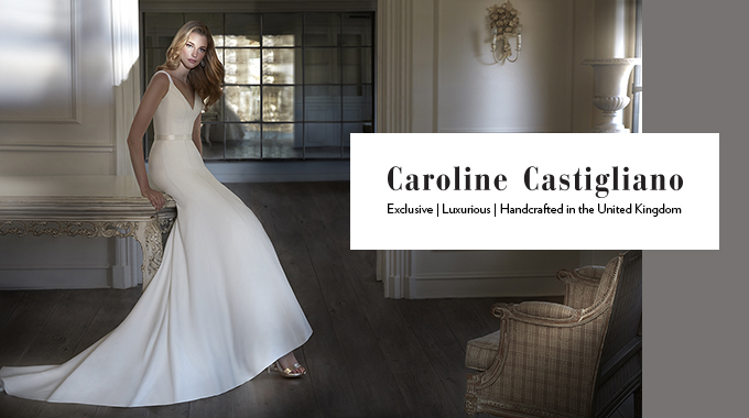 caroline castigliano - A Suzanne Neville Bride in a Classic, Long-Sleeved Lace Dress for a Celestial Inspired Wedding at Hatfield House