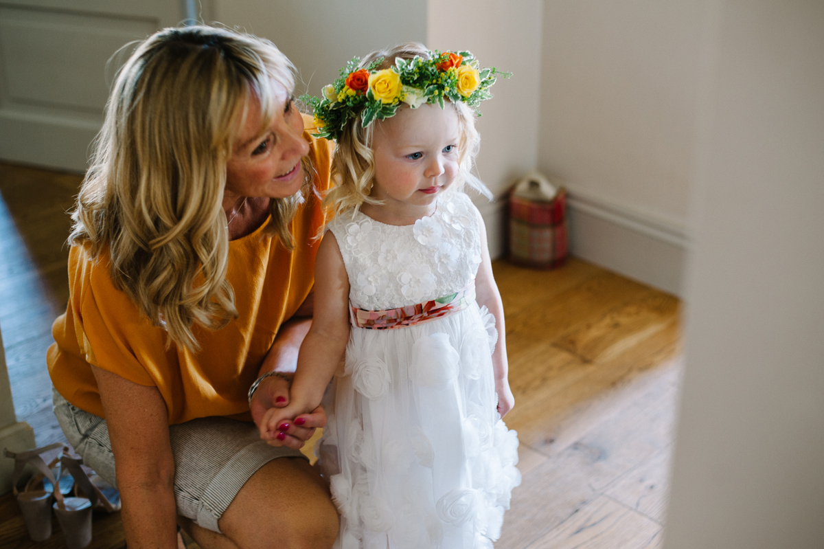 A vibrant handmade tipi wedding - Two Eliza Jane Howell Gowns For a  Colourful + Vibrant 3961b519df6a
