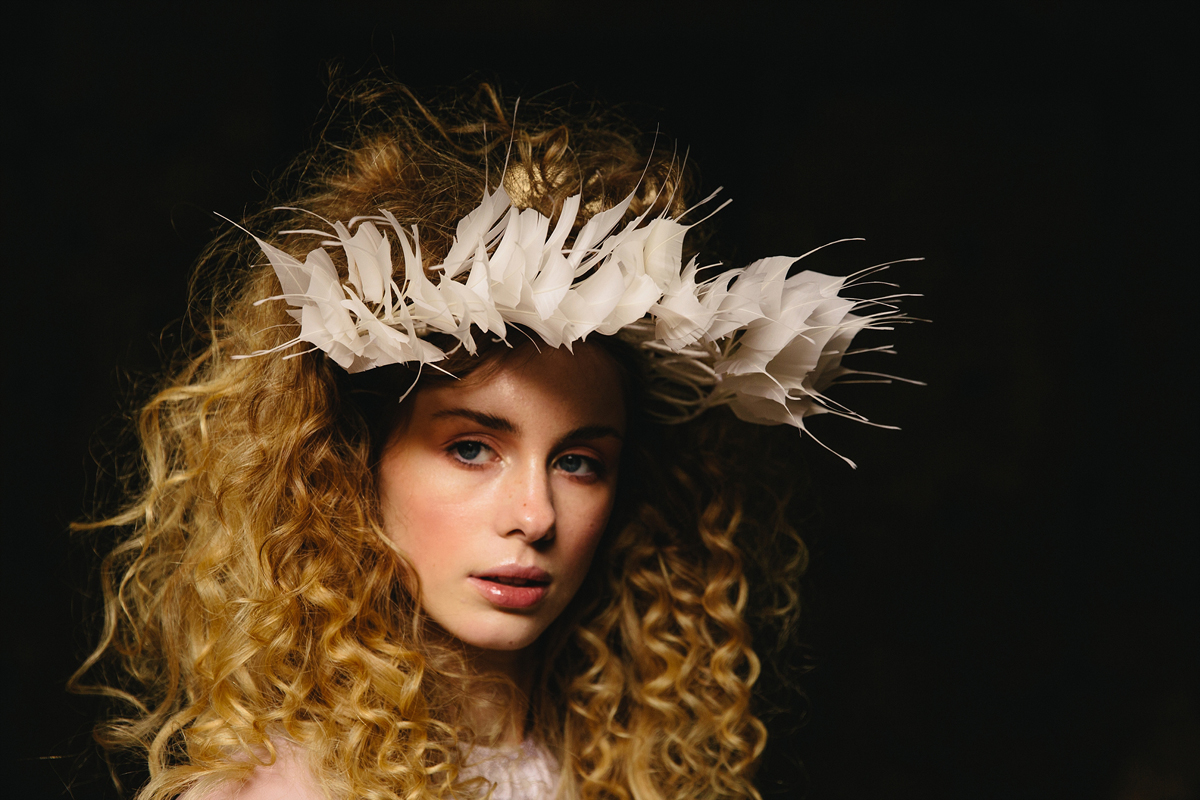 avant garde bride: non-traditional wedding day style at