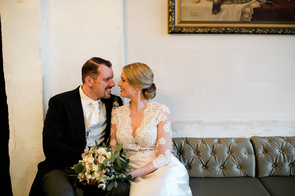"""c73565e185 Old Holywood glamour magical winter wedding Berlin Oh Hedwig Photography -  Old Hollywood Glamour For a. """""""