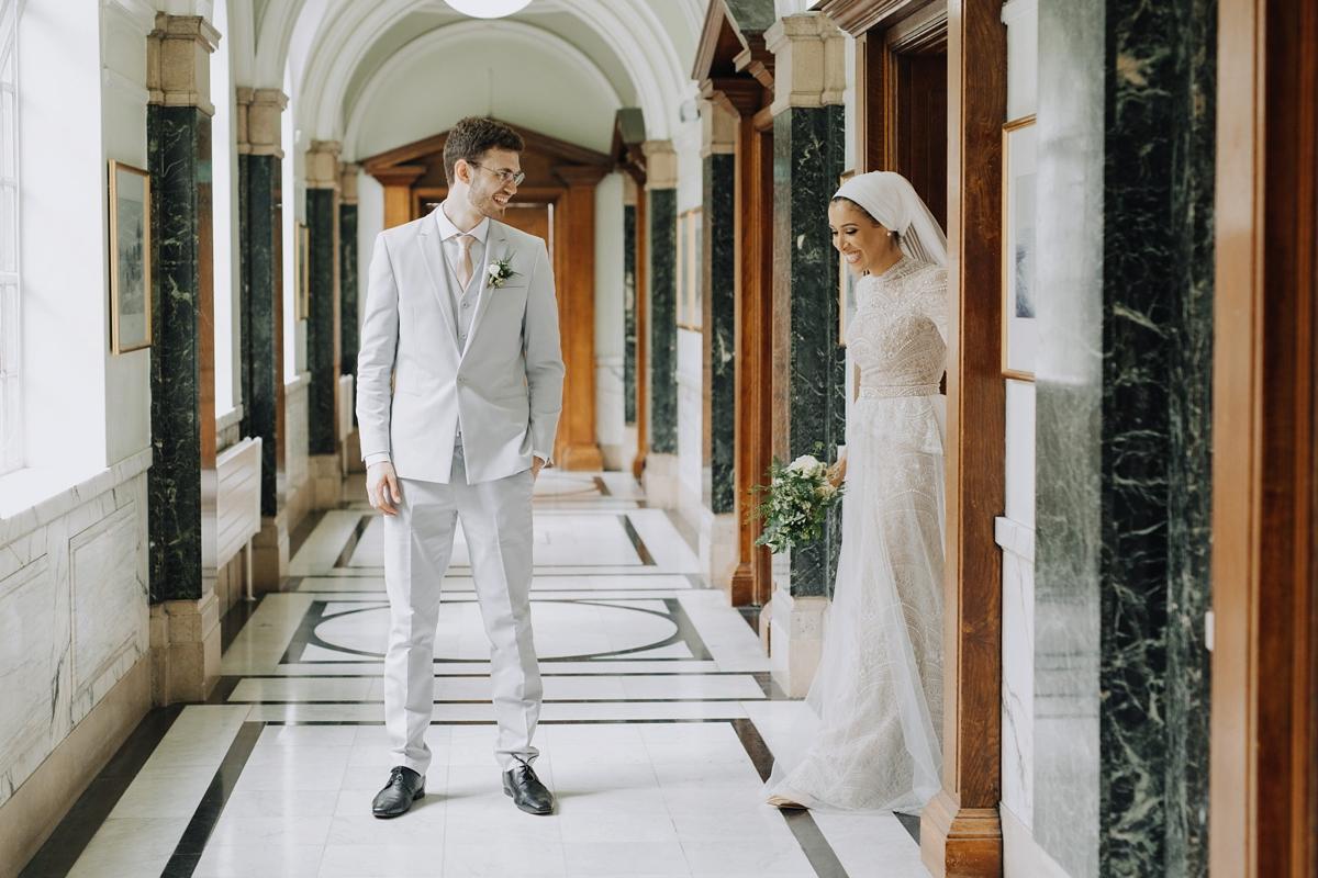 046d5cf7e98 Ersa Atelier dress hijab urban fairytale London wedding - An Ersa Atelier  Gown