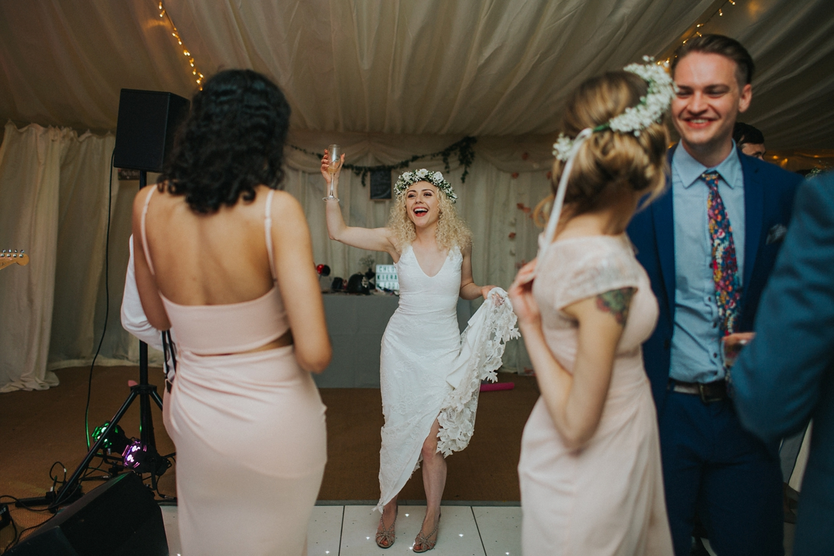 4f5fe39848f5 Grace Loves Lace dress feminist huminist boho wedding - A Grace Loves Lace  dress for a ...