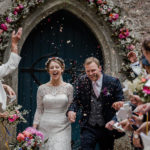 An Heirloom Veil for a Tinder Bride and her Colourful, DIY Farm Wedding In Cornwall
