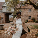 Modern-Vintage, Romantic Peachy Inspiration for the Modern Bride