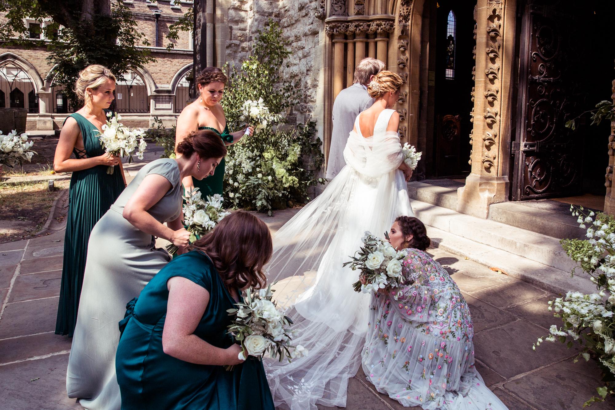 46c422d63 A Chic Phillipa Lepley Dress for a Classic + Elegant Kew Gardens Wedding |  Love My Dress® UK Wedding Blog + Wedding Directory