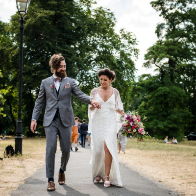 Grace Loves Lace For an Intimate + Boho Secret Garden Wedding in South London