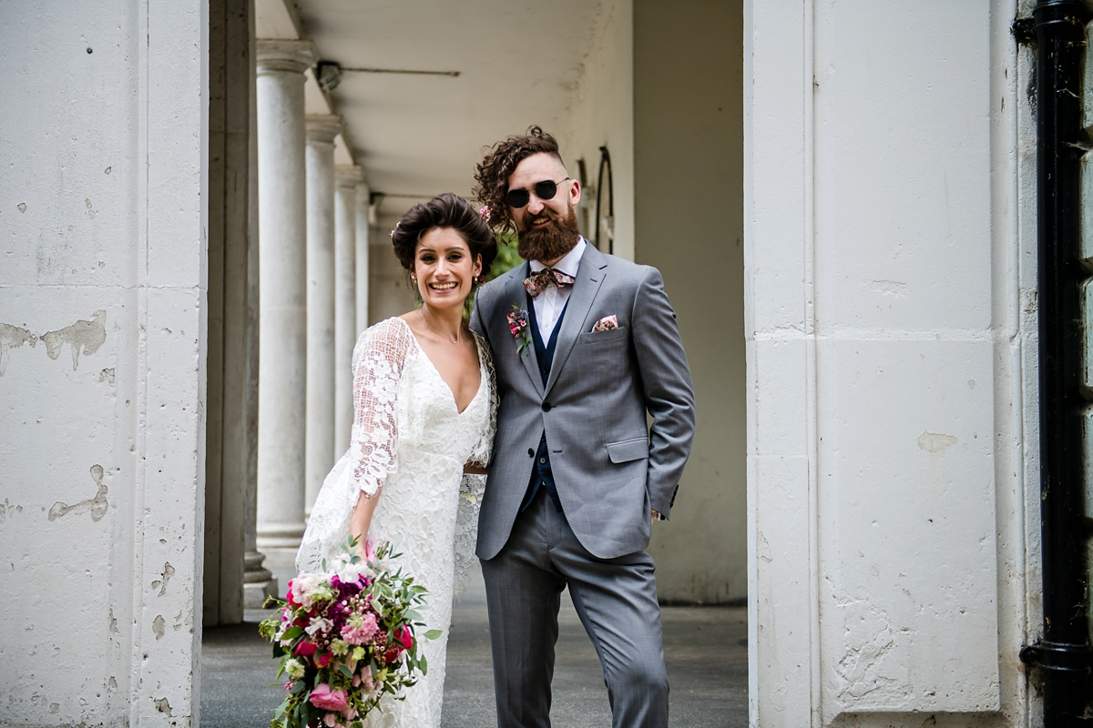 75eedec4a3e87 ... Grace Loves Lace bohemian intimate modern London wedding - Grace Loves  Lace For an Intimate + ...