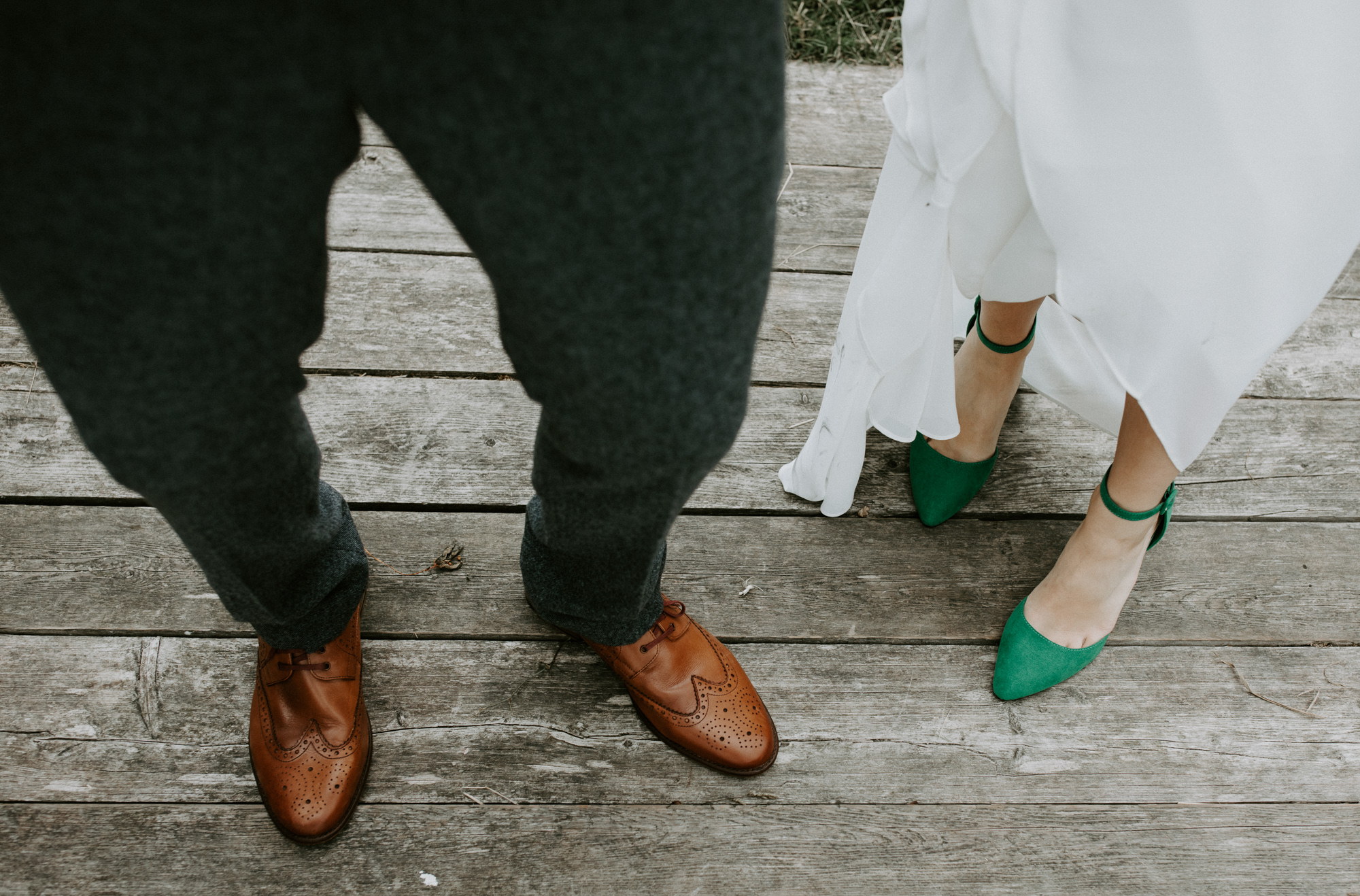 ce3803f865b Green Wedding Shoes and a Back Necklace for a Marquee Wedding on the Banks  Of The Thames | Love My Dress® UK Wedding Blog + Wedding Directory