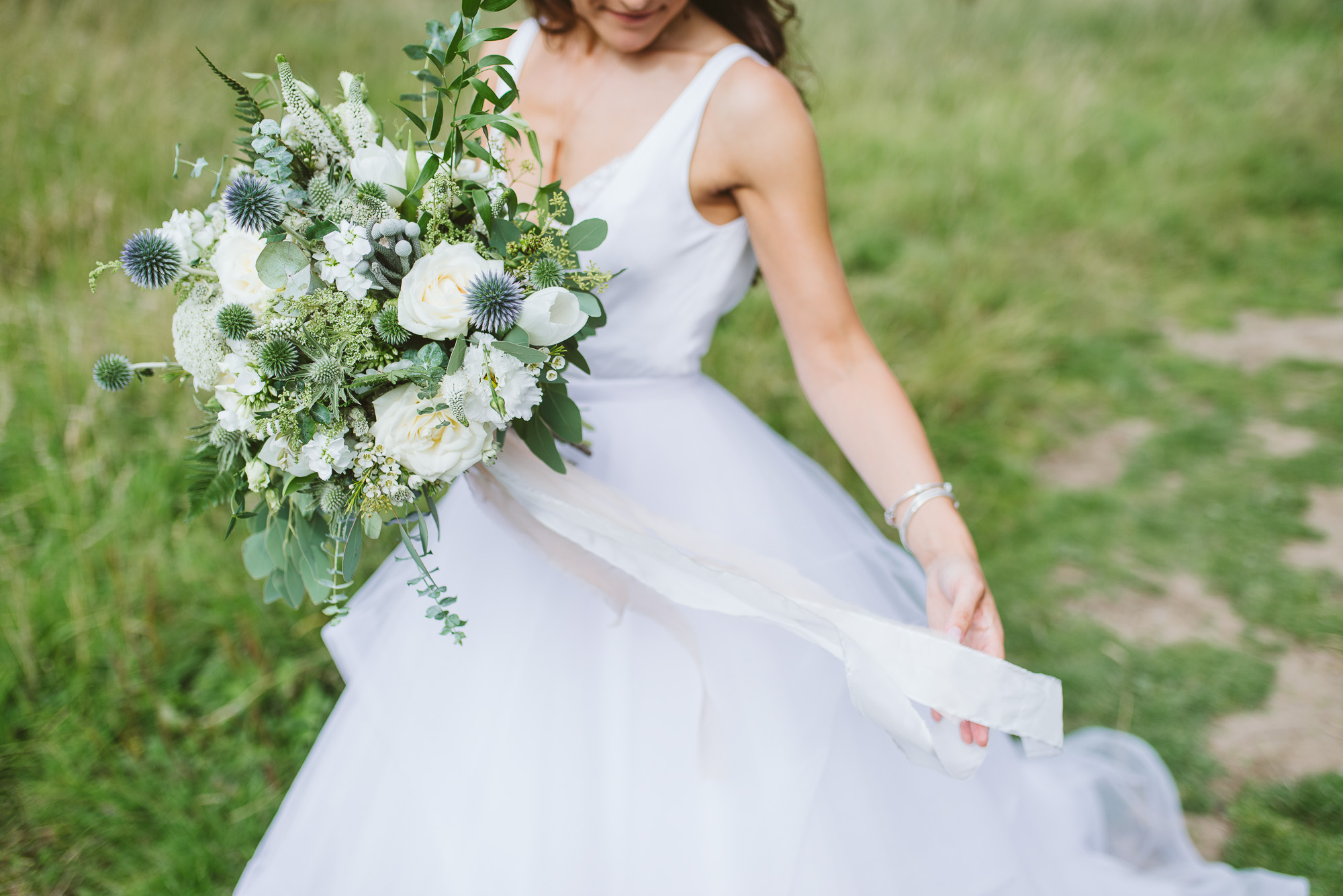 f89fa9a2837 A Fairytale Inspired Castle Wedding With Scottish + Dutch Traditions + a  Bride in Clogs